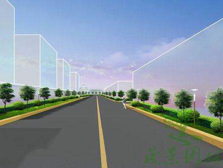 厂区道路设计案例